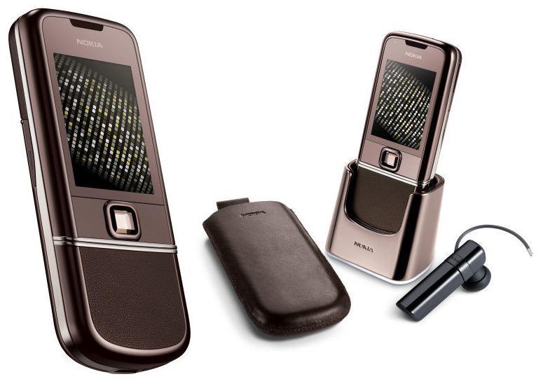 Vẻ đẹp nhã nhặn và gần gũi của Nokia 8800 Sapphire Arte