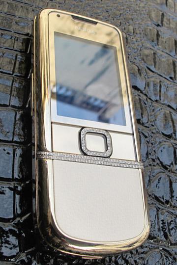 Nokia 8800 Gold Diamond Arte