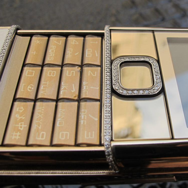 Nokia 8800 Gold Diamond Arte.