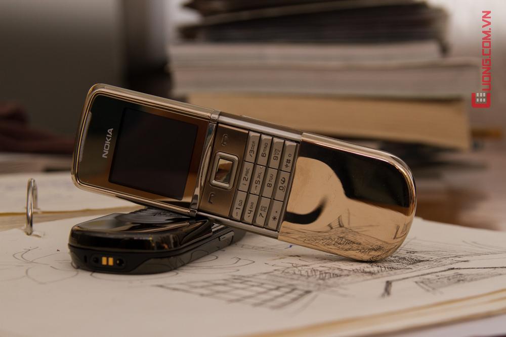 Vẻ đẹp lộng lẫy của Nokia 8800 Sirocco - xứng đáng là một kiệt tác