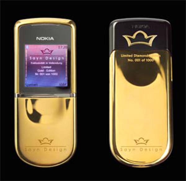 Nokia 8800 Sirocco Sayn Design