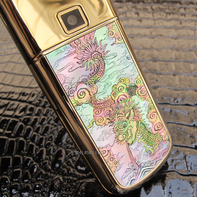 Nokia 8800 Gold Arte Diamon Dragon
