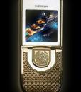 Nokia 8800 Sirocco King Arthur Gold