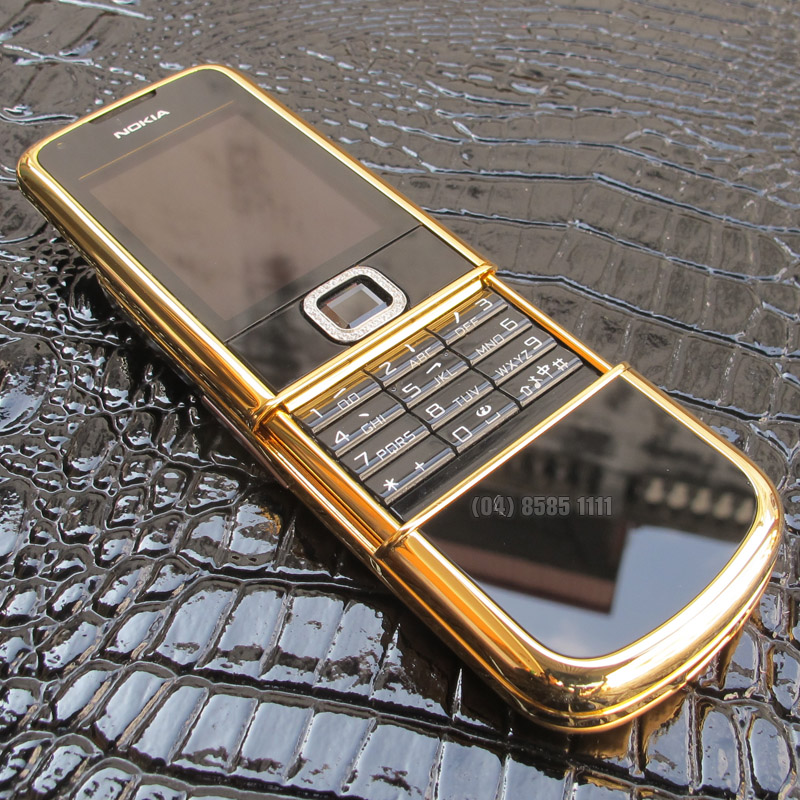 Nokia 8800 Black Gold Dragon