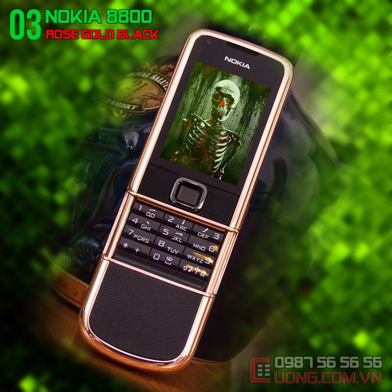 Nét đẹp cổ điển kết hợp đương đại- Nokia 8800 vàng hồng