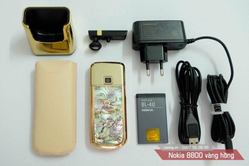 Bộ sản phẩm Nokia 8800 Long Phụng được bầy bán tại Cuong.Vn