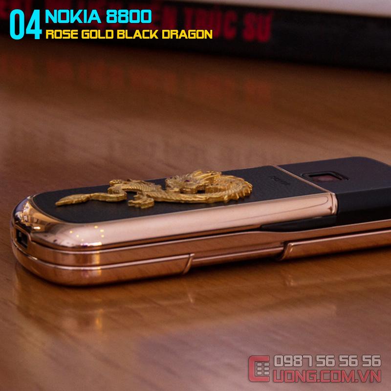 Nokia 8800 đính rồng phiên bản độ đầy quyền lực